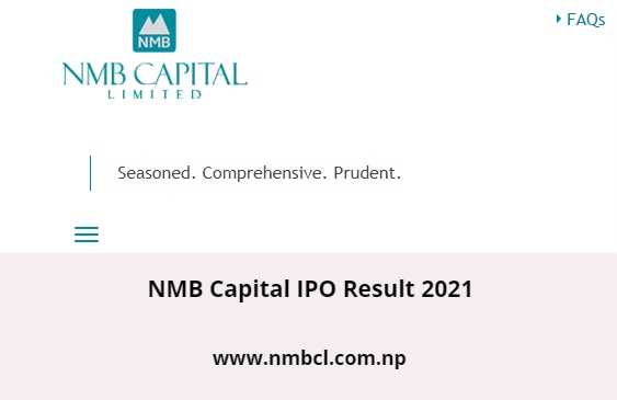 NMB Capital IPO Result 2021